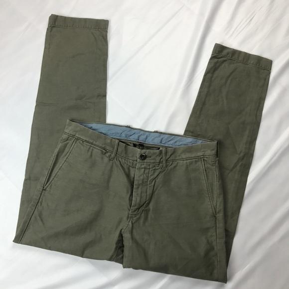 8c752111b5 J. Crew Pants | Mens J Crew 484 Slim Fit Olive Chino 33 X 32 | Poshmark